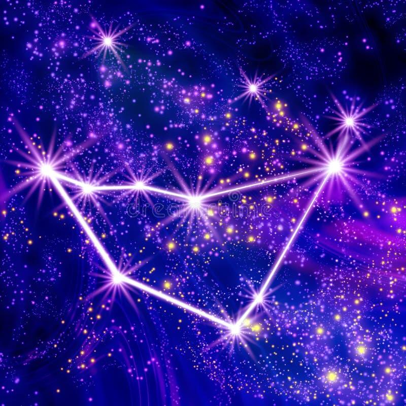 Capricorne de constellation illustration stock