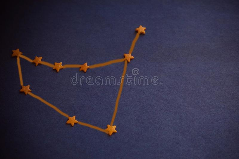 Capricorne de constellation, astrologie images libres de droits