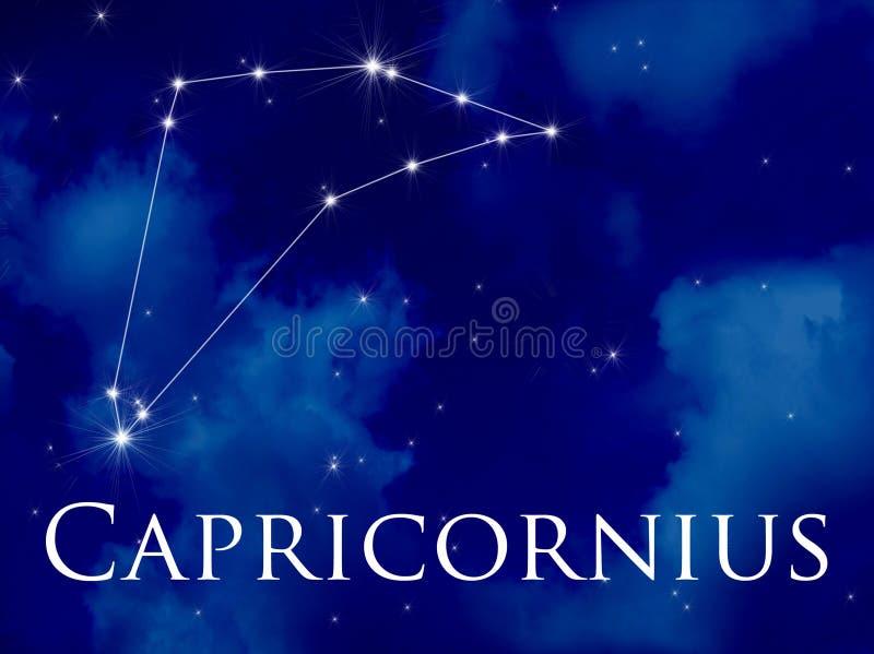capricornius星座 皇族释放例证