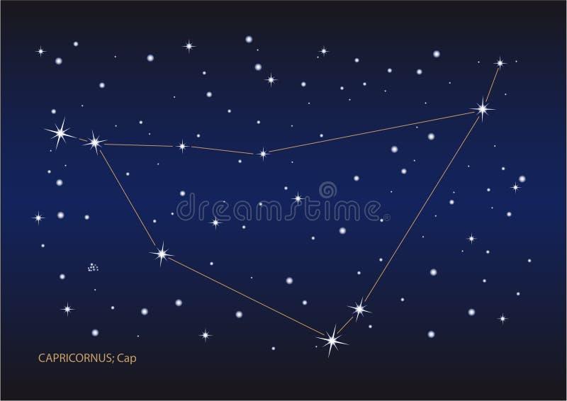 Download Capricornus constellation stock vector. Illustration of planets - 11015975