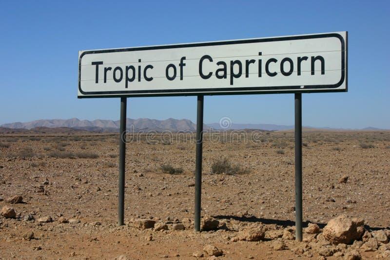 capricornvändkrets arkivfoton