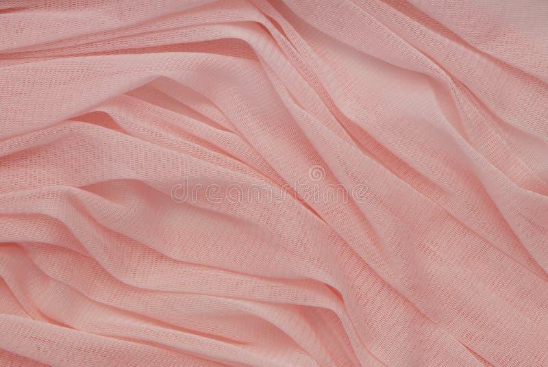 Caprone plisował tkaninę obrazy royalty free
