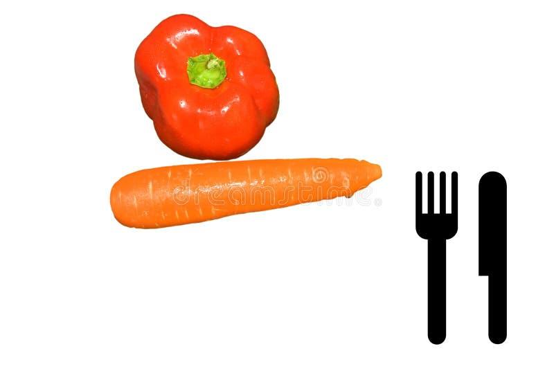 Capsicum And Carrot Stock Photos