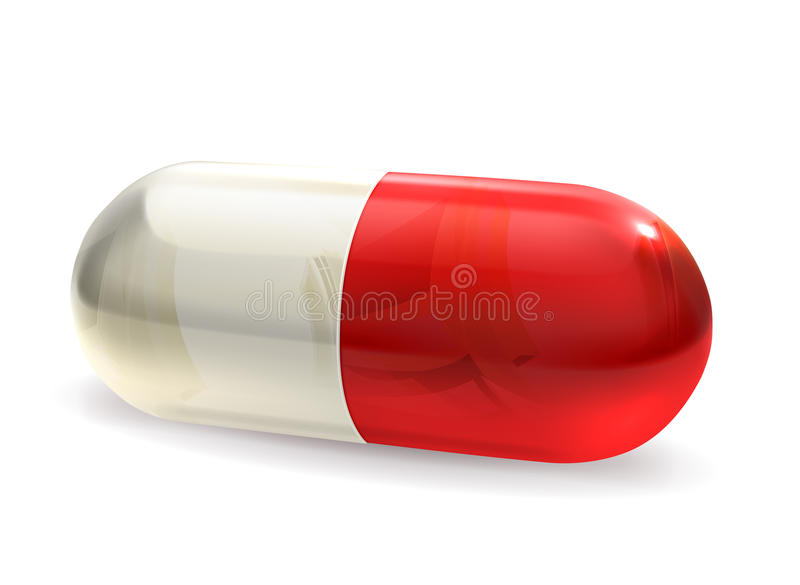 Download Capsule stock vector. Illustration of prevention, tablet - 24329009