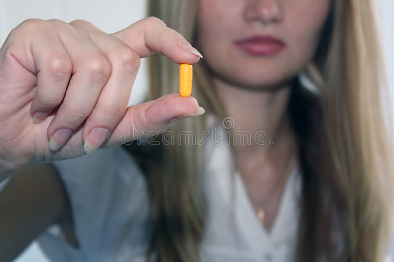 Capsule royalty free stock photography