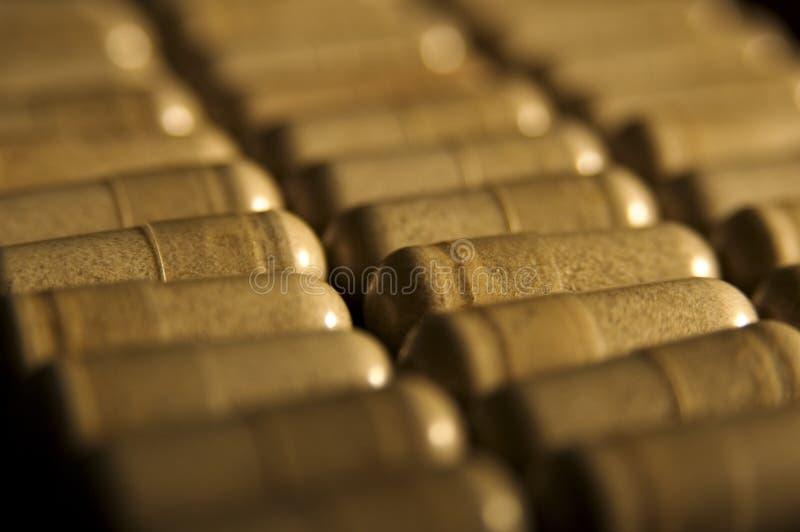 Capsules Fotografie Stock