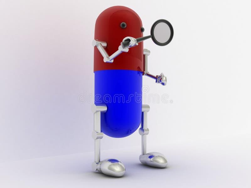 Download Capsule 3d man stock illustration. Illustration of care - 35330192