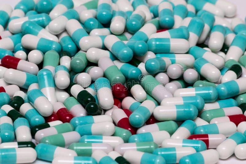 Download Capsule de pilule image stock. Image du drogues, sain - 56482149