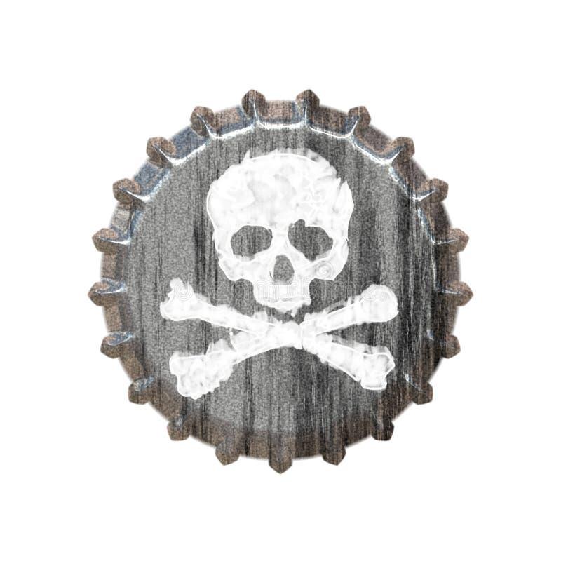 Capsule de poison illustration de vecteur