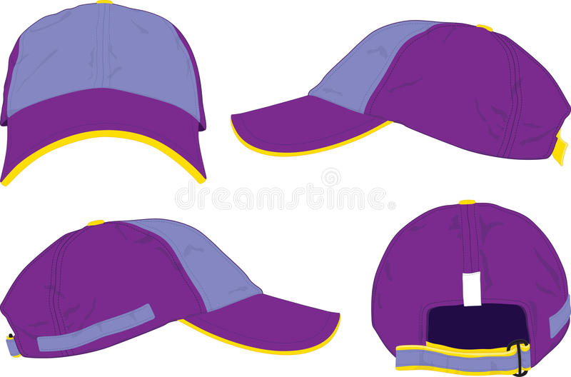 Capsule el sombrero. ilustración del vector