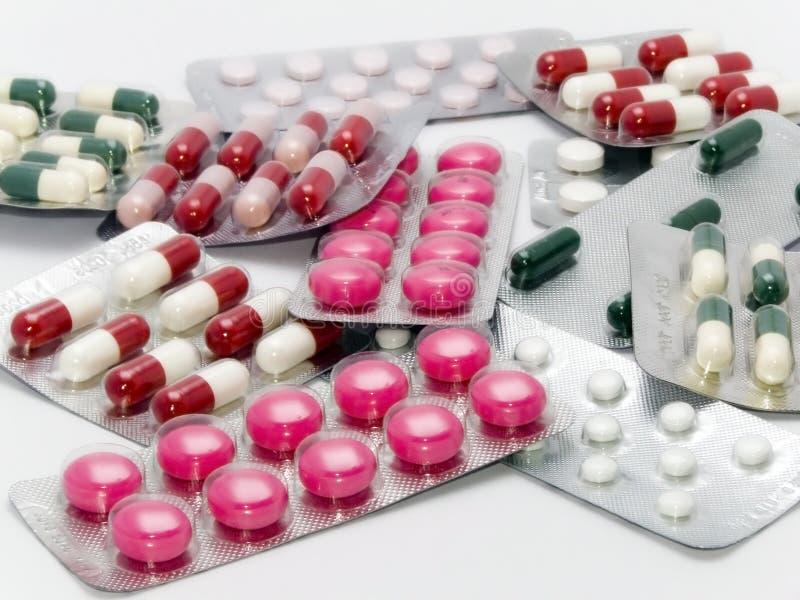 capsules пилюльки стоковое изображение