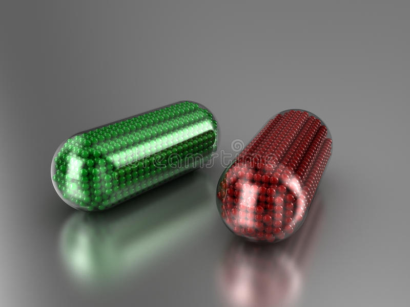 Download Capsules stock illustration. Image of narcotic, pills - 17236260