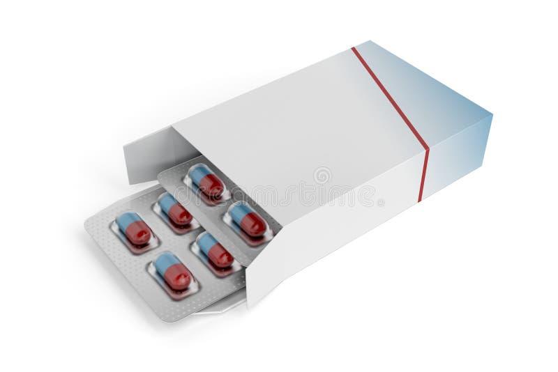 Capsules vector illustratie