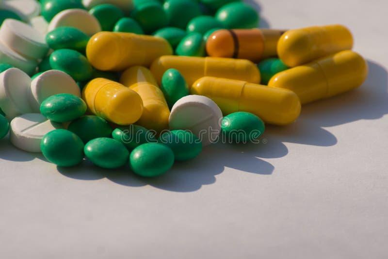 Capsules stock foto's