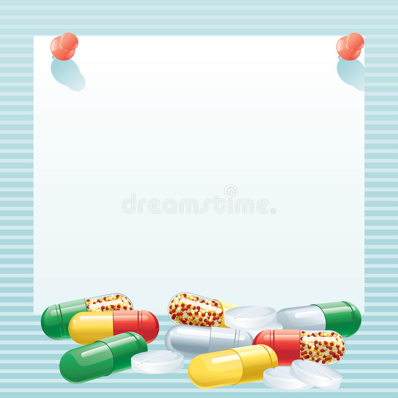Capsules illustration stock