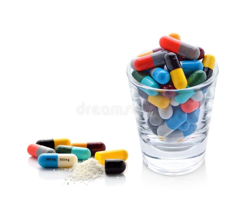 Capsules de pilules photos libres de droits