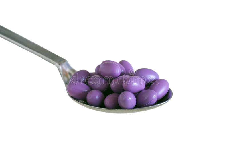 Capsules de vitamine photo libre de droits