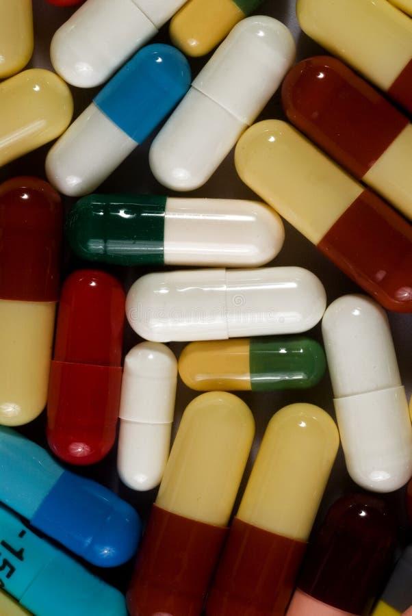 Capsules / Drugs stock photo