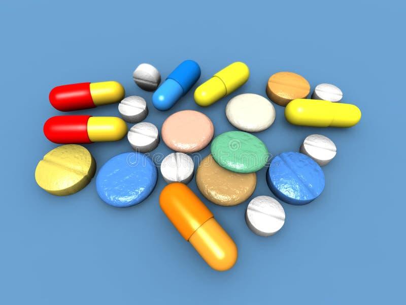 Download Capsules and pills stock illustration. Illustration of medicine - 8988558