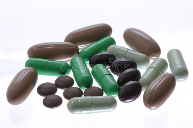 Capsuls und Pillen lizenzfreie stockfotografie