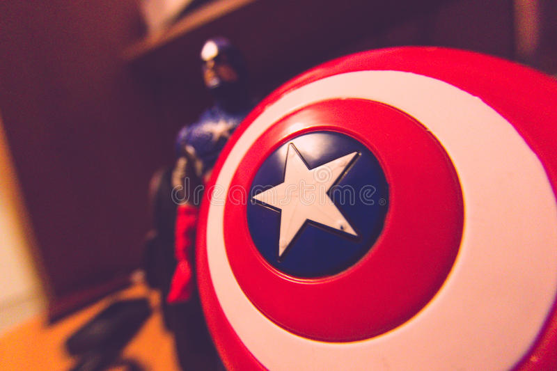 Captain America stock photography
