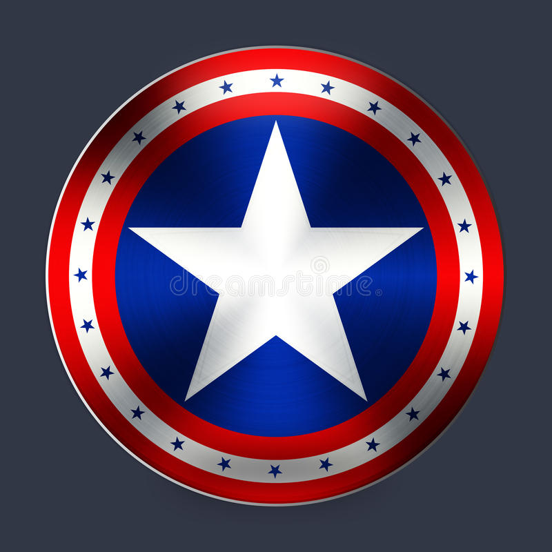 Captain of America stock illustration