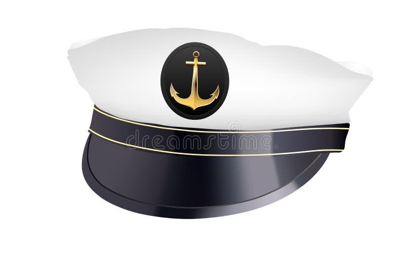 Captain hat stock illustration
