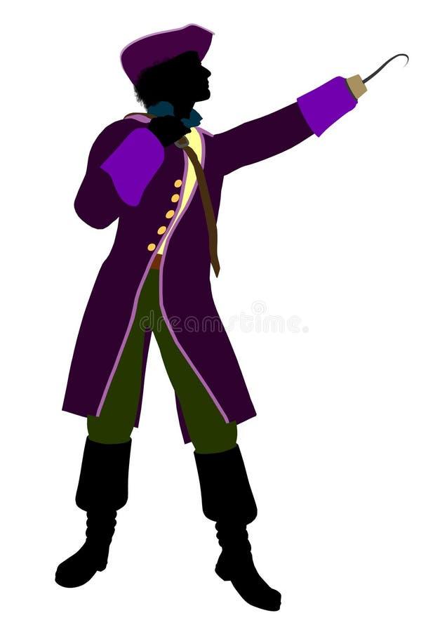 Download Captain Hook Silhouette Illustration Stock Illustration - Illustration of peter, tribes: 13426972