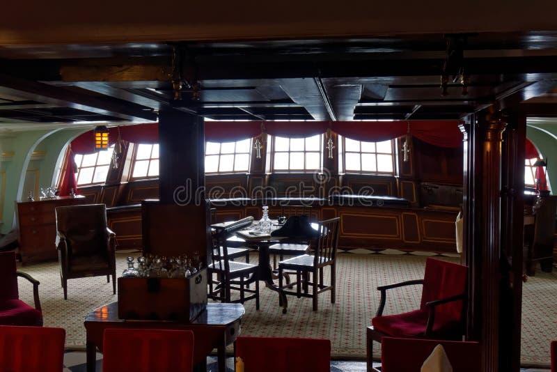 Captain's Cabin stock photo
