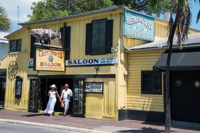 Captain Tonys Saloon stock photography