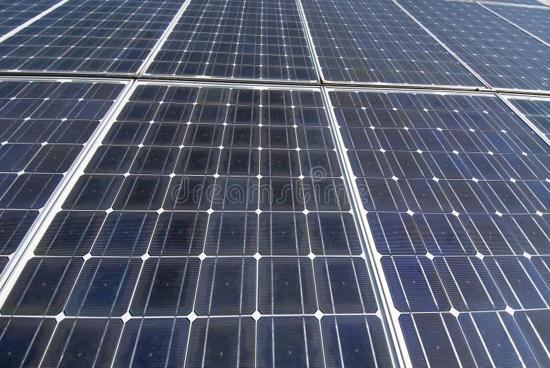 Capteurs solaires photo stock