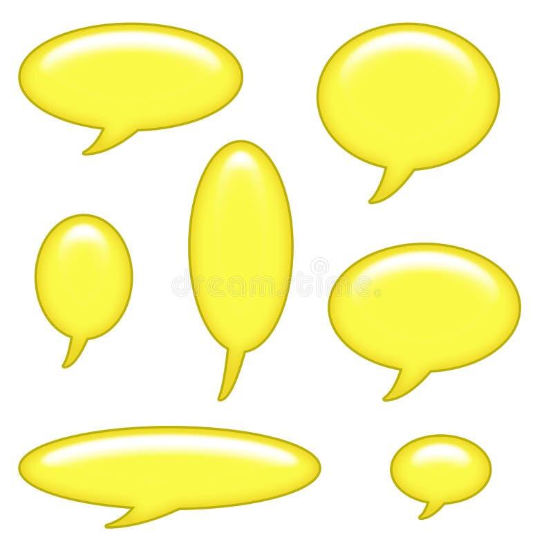 Download Caption Bubbles Clip Art stock illustration. Illustration of chat - 8359319