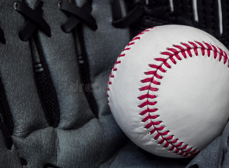 Captura del béisbol imagen de archivo libre de regalías