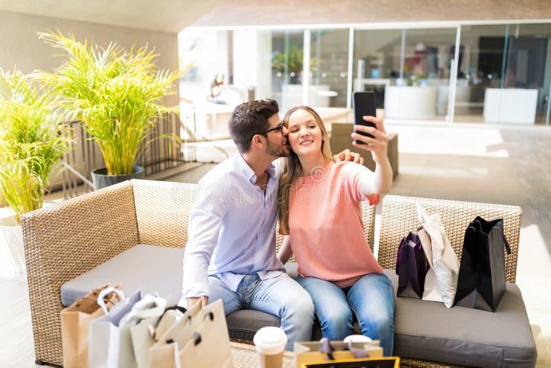 Captura del beso imágenes de archivo libres de regalías