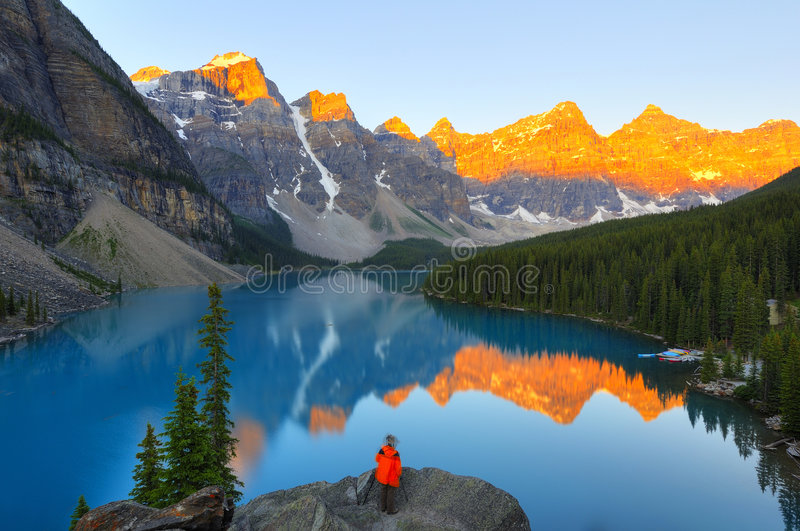 Download Capture the light stock photo. Image of moraine, pure - 6276740