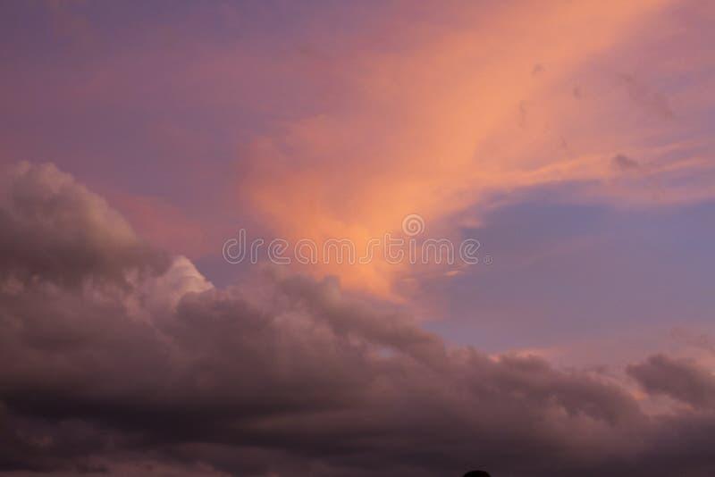 Beautiful sunset in Kansas showing God`s glory royalty free stock photos