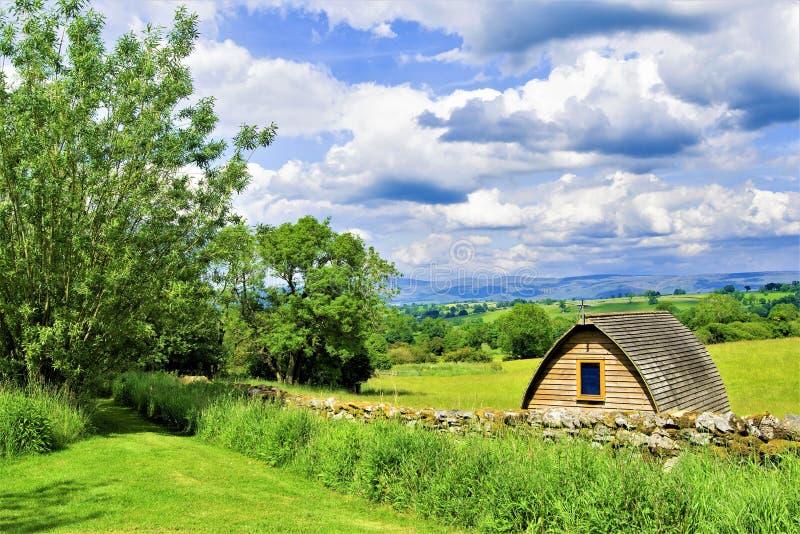 Yurt at Crosby Ravensworth, Yorkshire Dales. royalty free stock photos