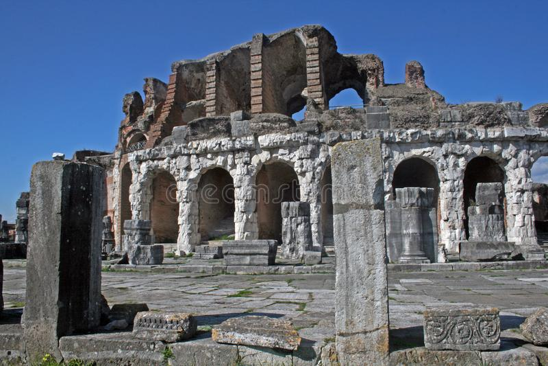 Capua amfiteatr zdjęcia stock