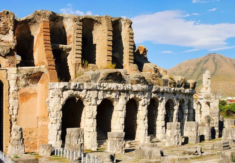 Download Capua amphitheatre stock image. Image of rome, blue, italy - 22897283