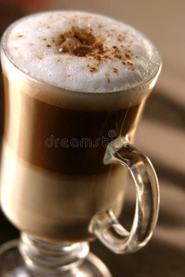 Capuccino coffe royalty free stock image
