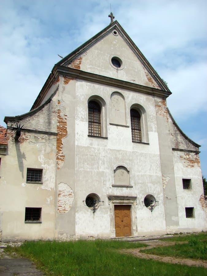 Capuchin klooster, 1737 jaar Roman Catholic Church StAnthony royalty-vrije stock afbeelding