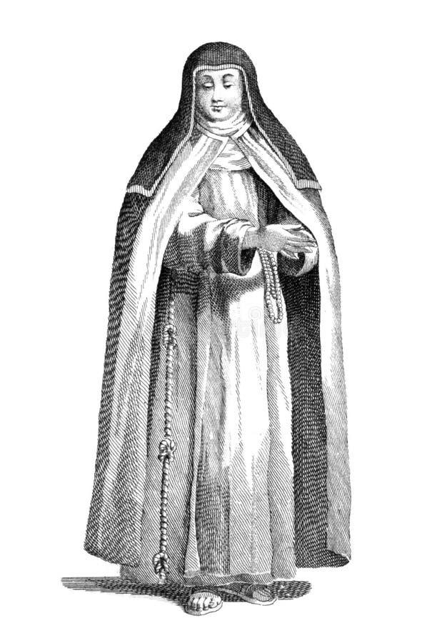 Download Capuchin Nun Editorial Stock Image - Image: 19442389