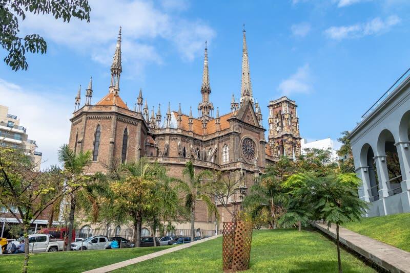 Capuchins Church or Sacred Heart Church Iglesia del Sagrado Corazon - Cordoba, Argentina stock photography
