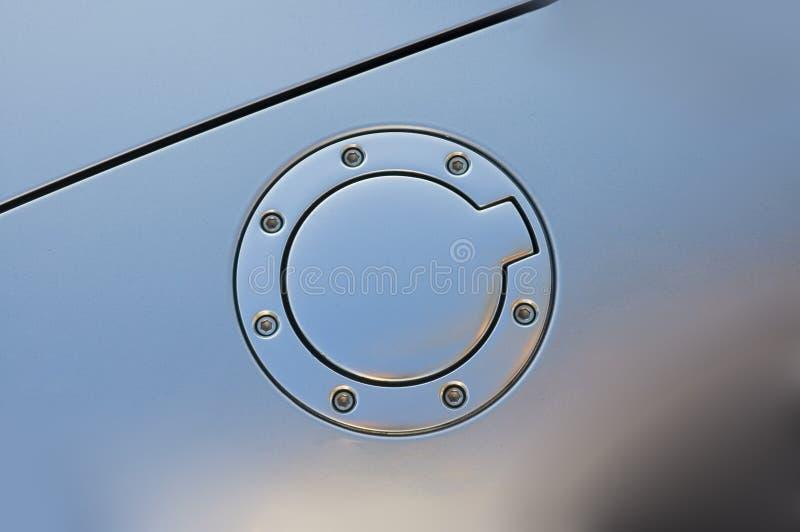 Capuchon de gaz d'Audi photo stock