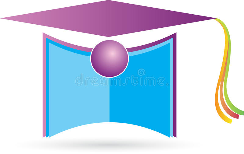 Capuchon de graduation illustration libre de droits
