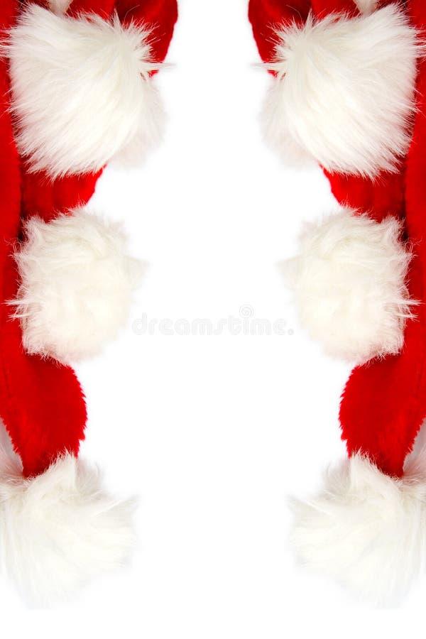 Capuchon de Santa photos libres de droits