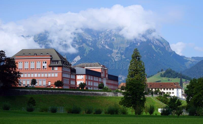 Capucin Monastery. STANS, SWITZERLAND - CIRCA AUGUST 2015 Capucin Monastery royalty free stock photos