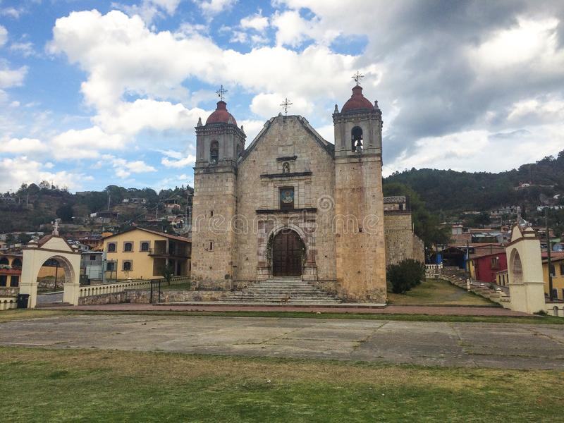 Capulalpam de M?ndez, Oaxaca, M?xico imagem de stock royalty free