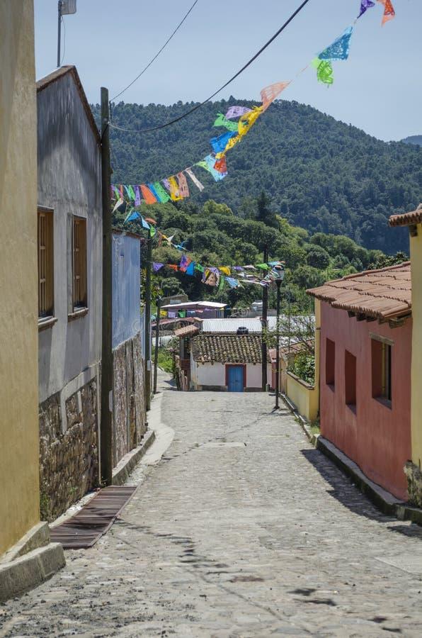 Capulalpam de Mendez. Oaxaca, Mexico royalty free stock image
