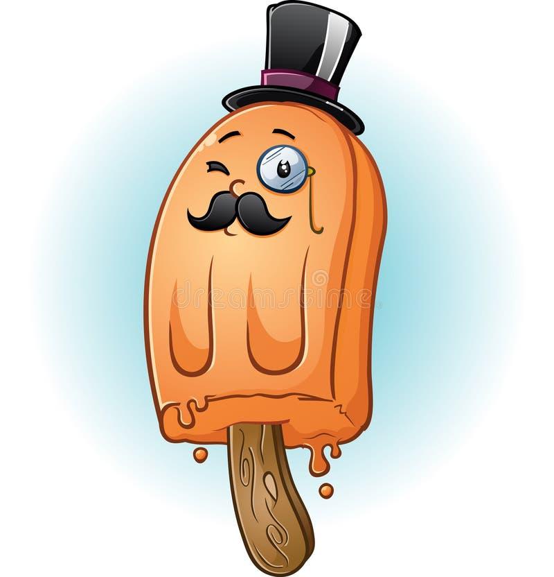 Carácter apropiado del Popsicle libre illustration